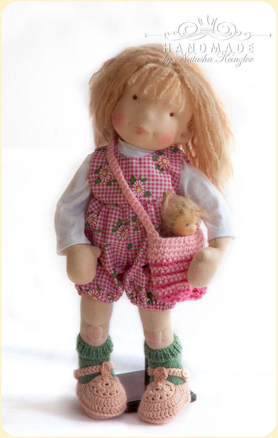 Carolyn Waldorf inspired doll 16'' Steiner Doll by kiwinestling