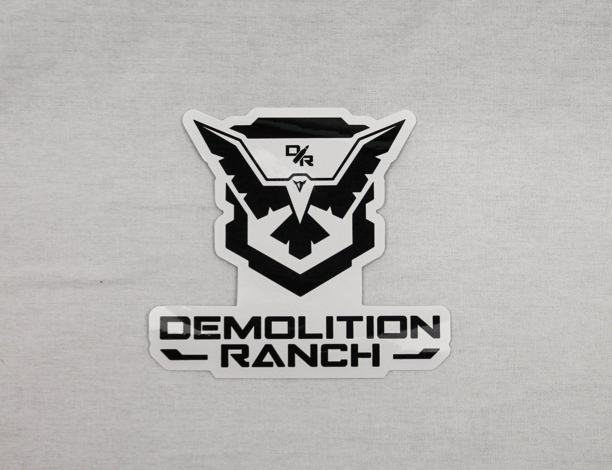 Demolition Ranch Sticker Demolition Ranch Logo Sticker