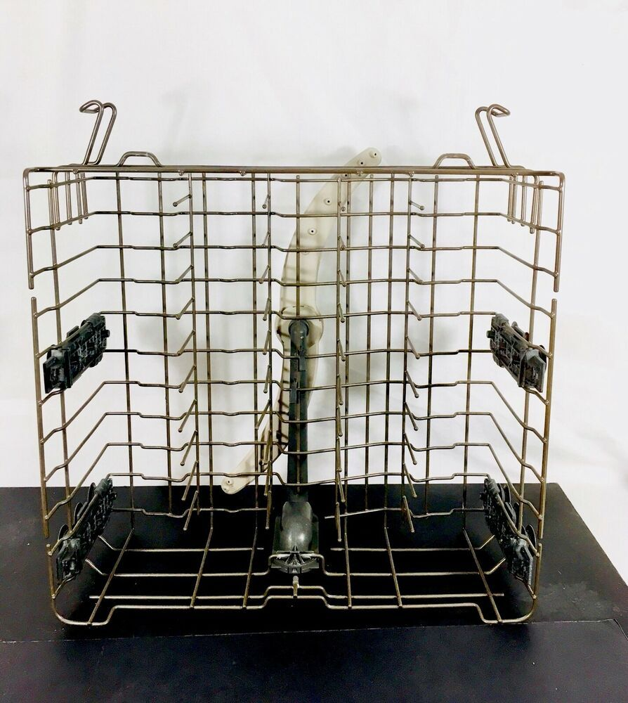 Ge Dishwasher Wd28x10352 Upper Dishrack Assembly General Electric Rack Sprayer Ge Dishwasher Rack General Electric