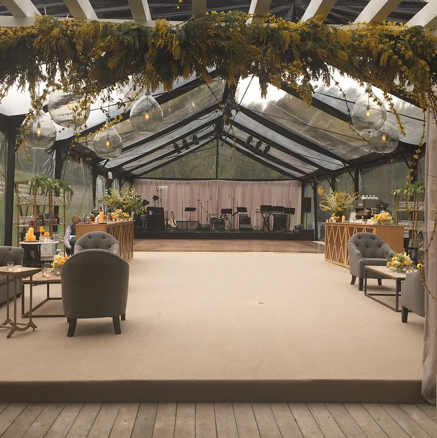 Clearspan Marquee Decor Ideas