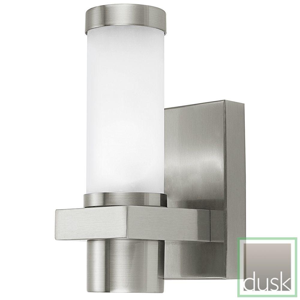 Eglo Konya Exterior Stainless Steel Wall Light | Discount Exterior Lights | Clearance  Discount Lighting |