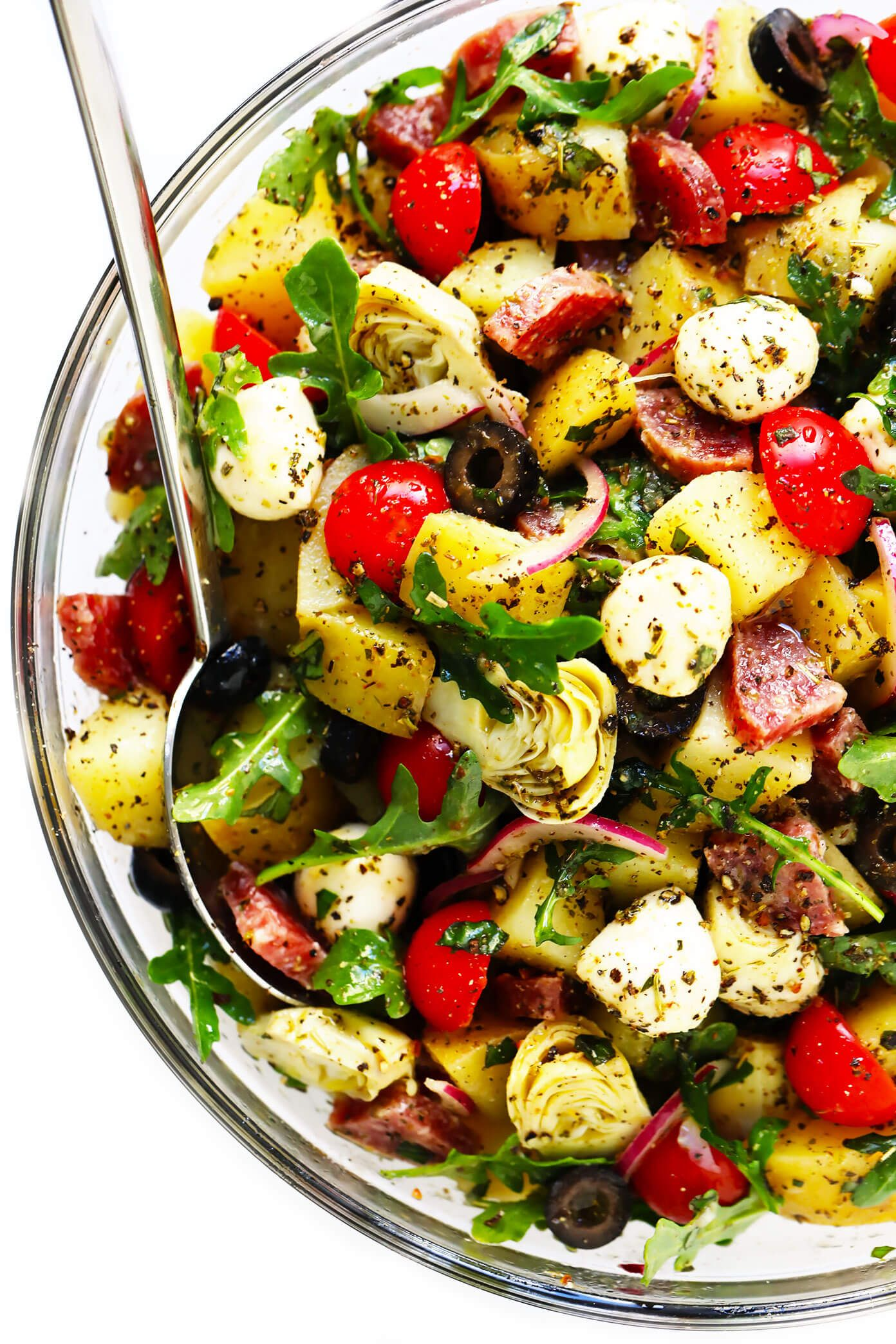 Italian Potato Salad | Gimme Some Oven #potatosalad