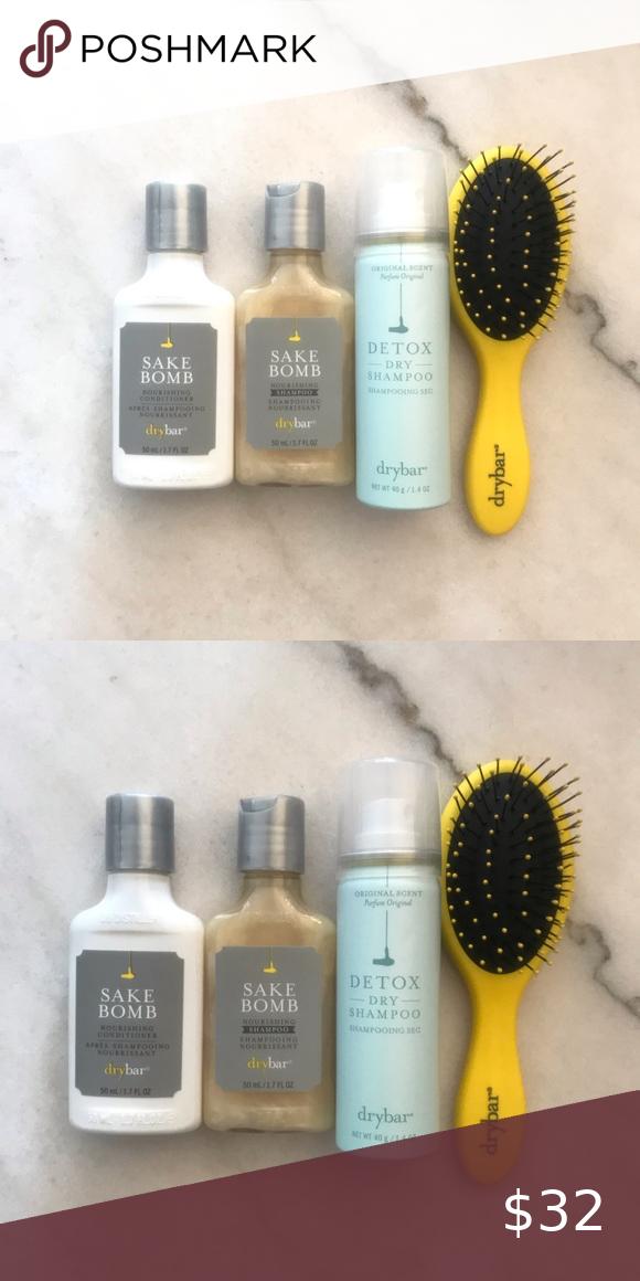 Drybar Travel Set New Travel Size Shampoo Travel Size Products Travel Set