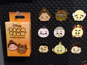 Beauty and the Beast Mystery Tsum Tsum Pin Set