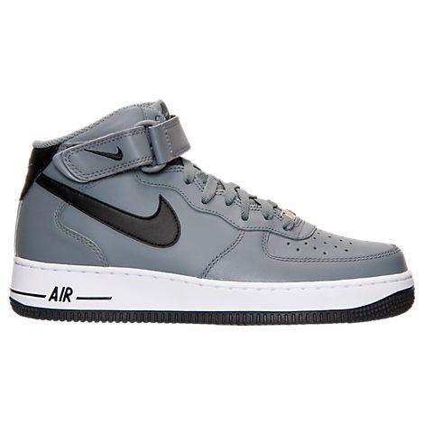 Los Hombres 1 De Nike Air Force 1 Hombres Mid Zapatos Casuales 315123 Acabado 315123 026 e48820