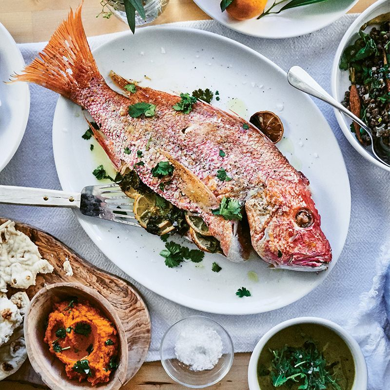 Whole Roasted Snapper | Crab soup, She crab soup, Snapper ...