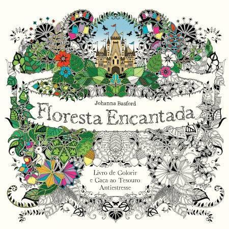 #JohannaBasford #FlorestaEncantada