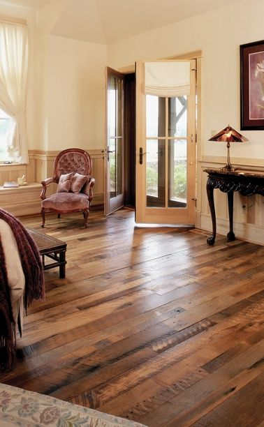 If possible, Id love to build a house with wood floors that have this kind of character. Take the Pinterest survey >>> http://bit.ly/GZdCEe