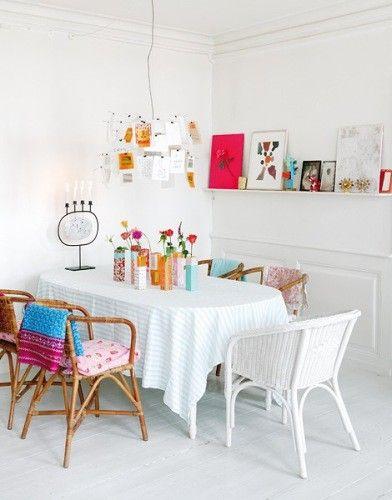 Die Tischdecke muss nicht immer oval sein: Auch eckige Tischwäsche ...