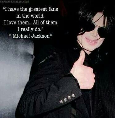 And we love you too Michael.