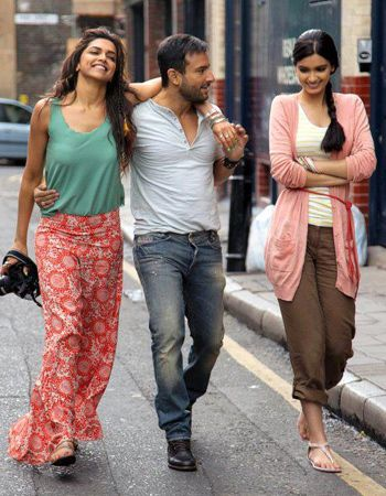 Saif Ali Khan And His Heady Desi Cocktail With Two Leggy Lasses Cocktail Dress Vintage Cocktail Movie Bollywood Fashion