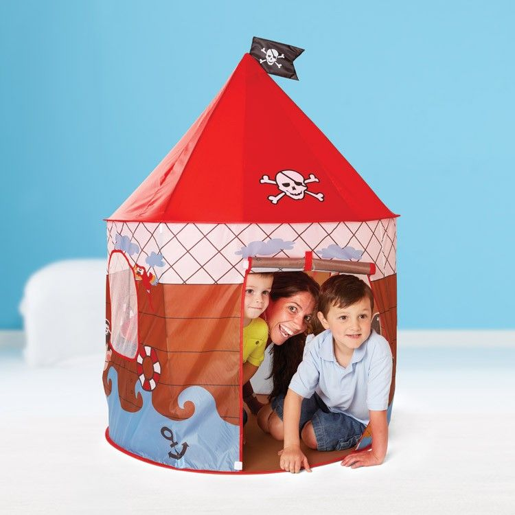 You little pirates can have their own cool pop up Pirate Den Playhouse! Manufactured by  sc 1 st  Pinterest & You little pirates can have their own cool pop up Pirate Den ...
