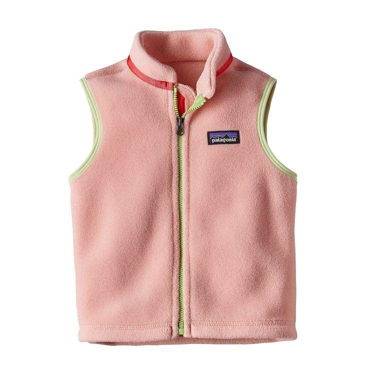 Baby Synchilla 174 Fleece Vest Fleece Vest Baby Vest Baby