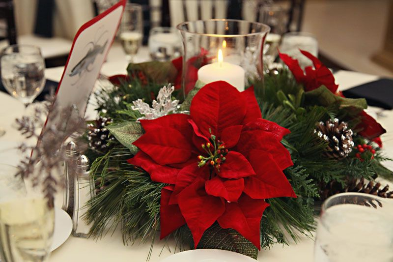 Christmas wedding centerpiece wedding centerpieces pinterest christmas wedding centerpiece junglespirit Image collections