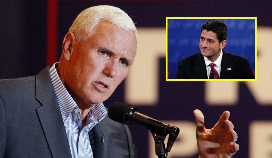 BREAKING: Mike Pence Just Took Down Paul Ryan! Look What He Just Did…