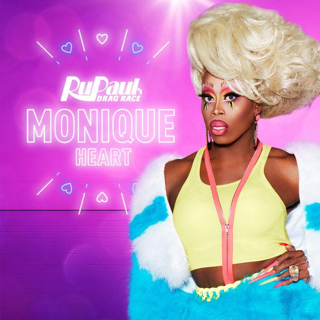 Monique Heart for RuPaul's Drag Race Season 10 Rupaul