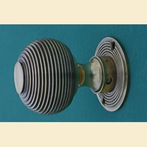 Brass Door Knobs Beehive and Bloxwich. Both work as rim knobs or ...