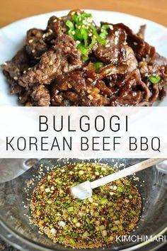Bulgogi – Authentic Korean Beef BBQ