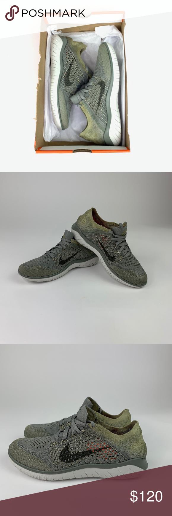 Online Store Nike Free Rn Flyknit Running Cargo KhakiBlack