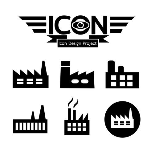 Factory Icon Symbol Sign Factory Icon Plant Icon Vector Icons Free