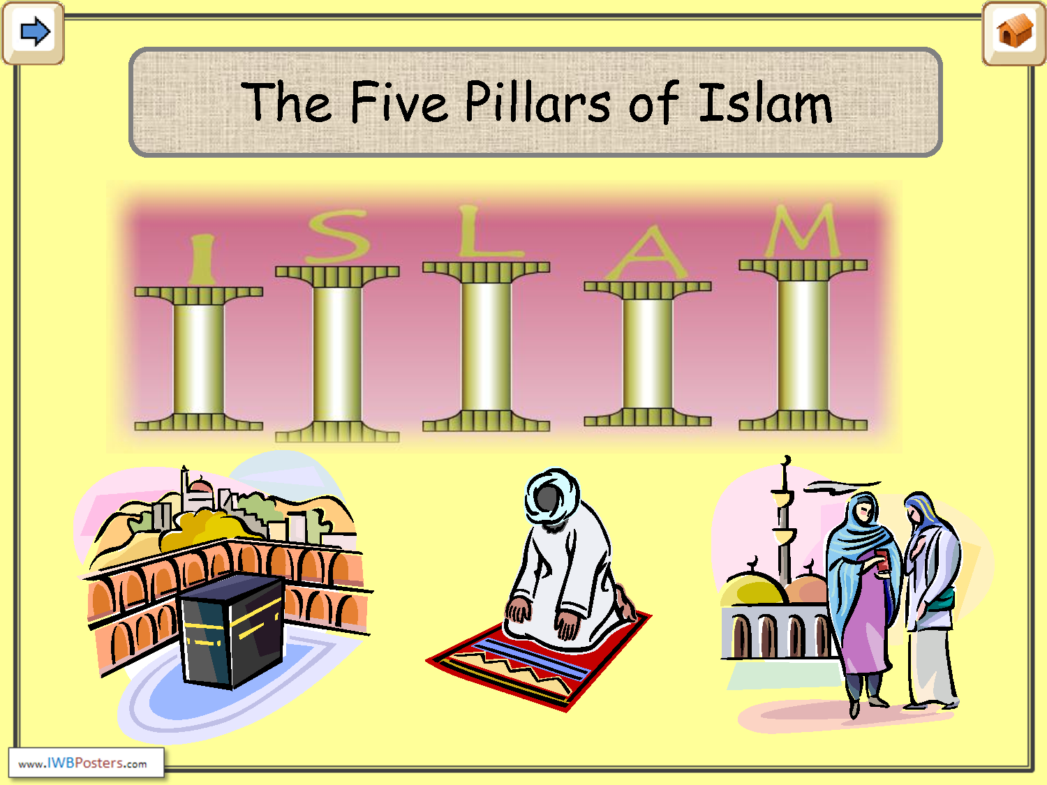 5 pillars of islam essay 18-1-2018  essay on five pillars of islam 1239 words | 5 pages salah is the second pillar that is requires all islamic people to pray five times a day these prayers.