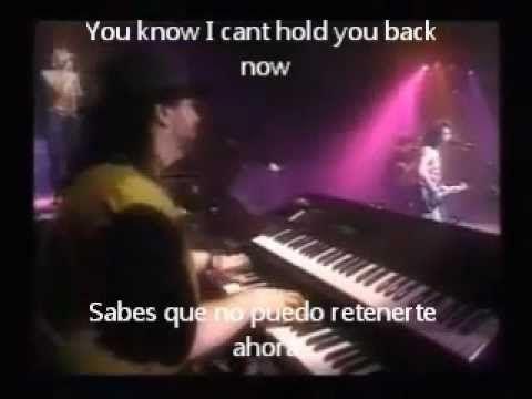Toto I Wont Hold You Back Lyrics Sub Live Lyrics Hold On Hold You