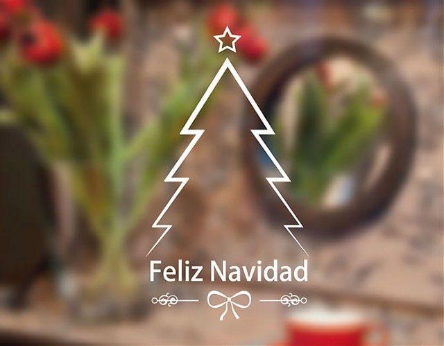 decoración navidad casa #arbolnavideño #vinilonavidad Ideas - decoracion navidea para exteriores de casas
