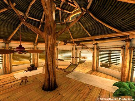 intérieur cabane | intérieur de la cabane de Sonic - Décors - Images ...