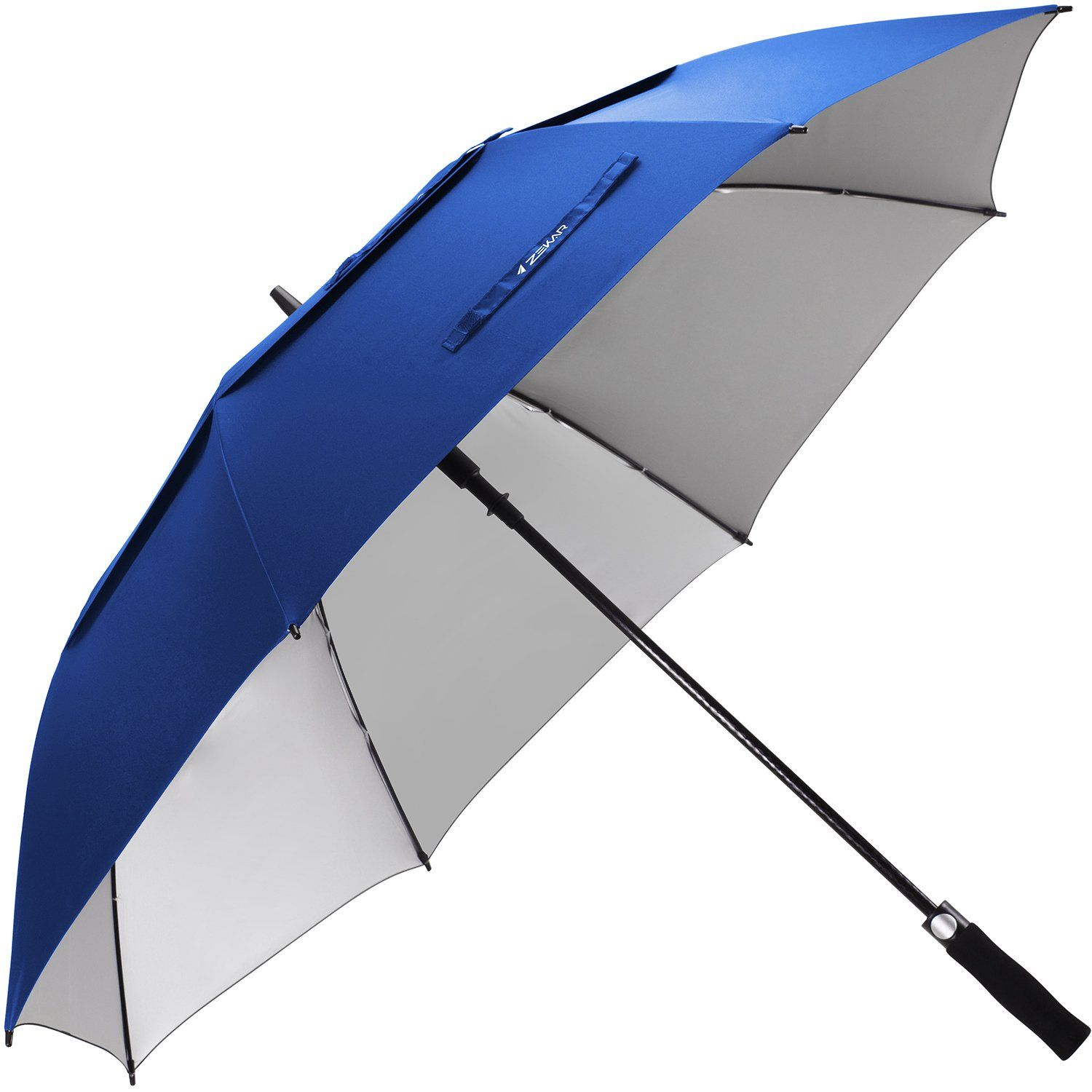ZEKAR 62 / 68 Inch Windproof Large Golf Umbrella Vented Double Canopy and Automatic Open  sc 1 st  Pinterest & ZEKAR 62 / 68 Inch Windproof Large Golf Umbrella Vented Double ...