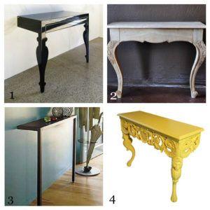 Console Table 2 Legs httpbenchforuminfo Pinterest Console