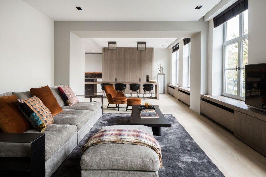 Interieur mix van modern en klassiek interieur inrichting