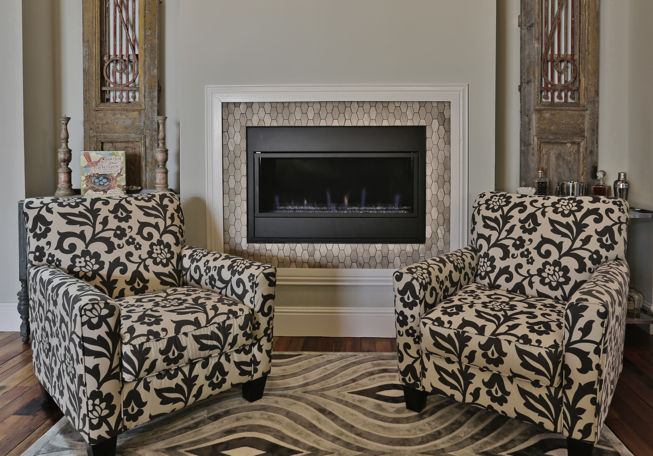 Traditional Thursday Features A Gorgeous Accent Fireplace