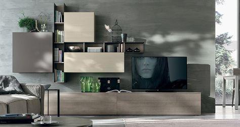 Novità soggiorni moderni 2015 arredamento casa e cucina a firenze