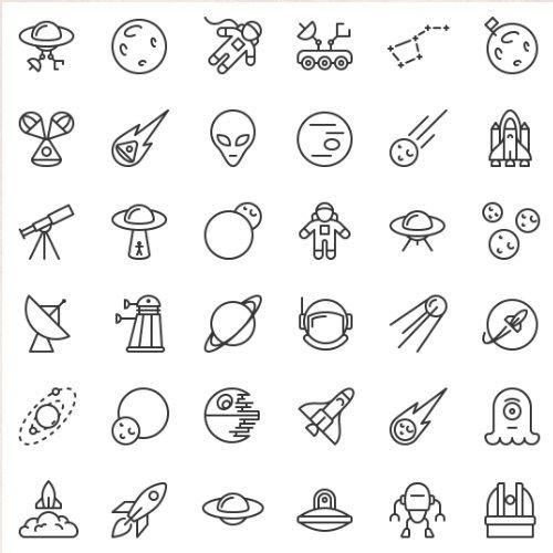 Pack Dicônes Gratuit Freebies Ressource Icons Tatuajes Guachis