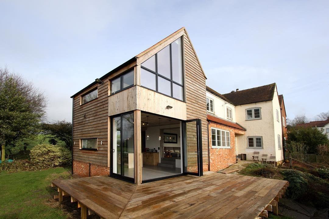 Quot Mi Piace Quot 487 Commenti 1 Homify Su Instagram Quot While The Structure Of The Origi House Aluminium Windows And Doors Design Your Dream House