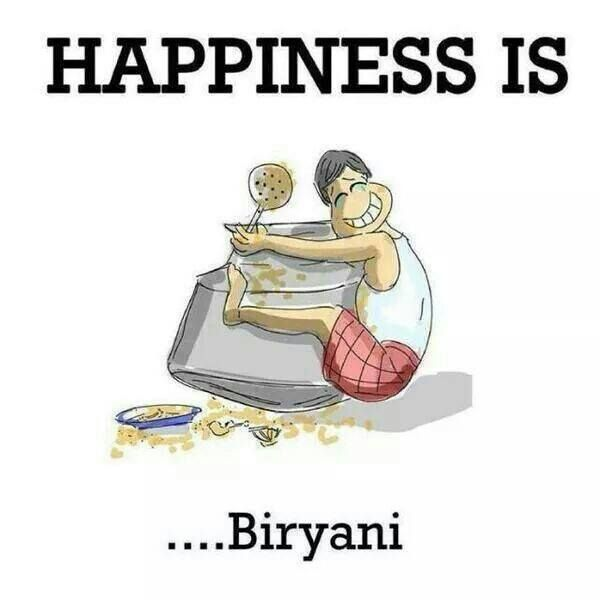 Yes I Am In A Relationship With Biryani What Will You