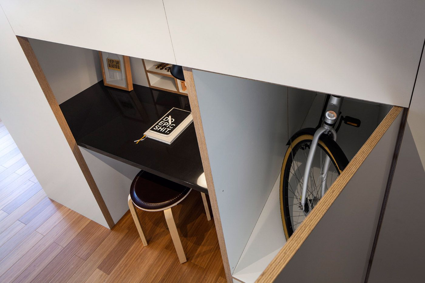 Ideas for space under loft bed  Experience the Zoku smart lofts with our big and beautiful photo