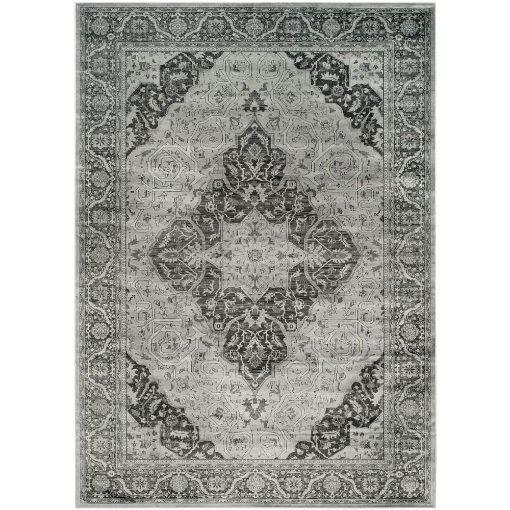 Vintage Light Blue Multi 8 Ft 10 In X 12 Ft 2 In Area Rug Vintage Area Rugs Blue Medallion Area Rugs