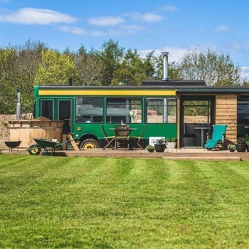 The Bus Stop Gifford East Lothian In 2020 Tiny House Luxury