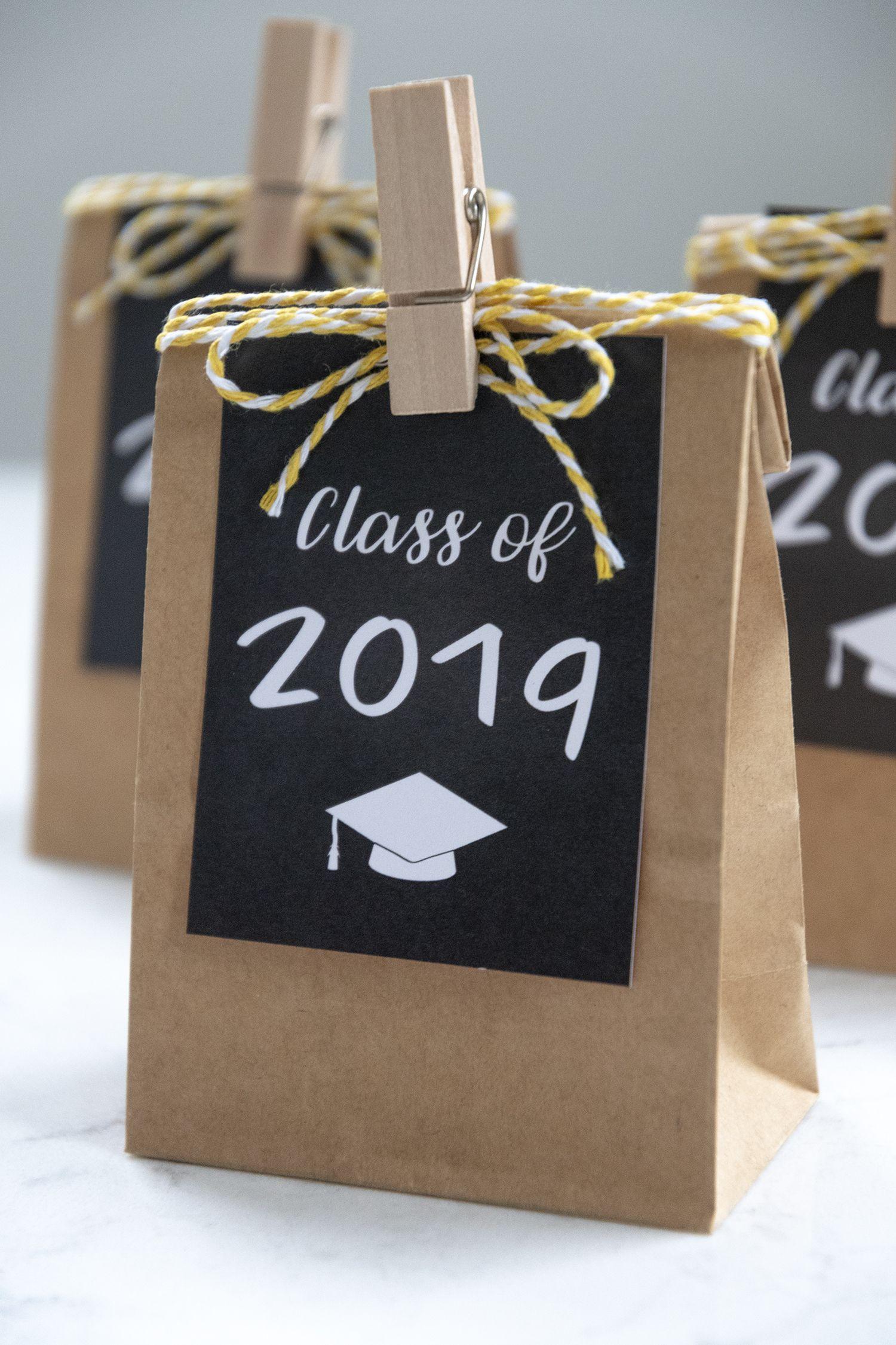 Free Printable Graduation Gift Tags