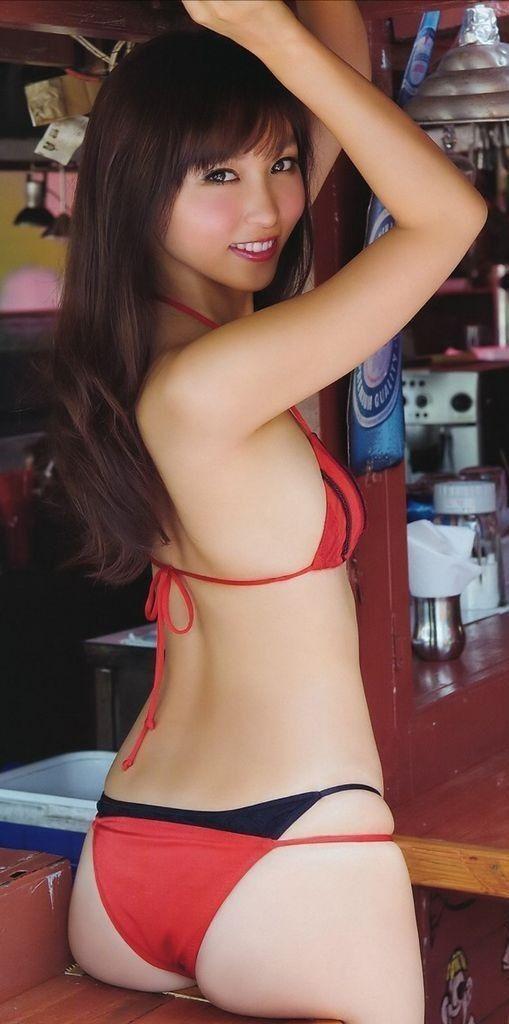 Sling bikini hairy