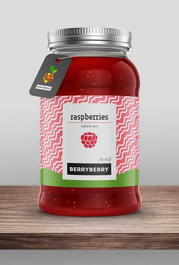 40 Free Label Mockups (PSD & Vector) | Pinterest | Maquetas ...