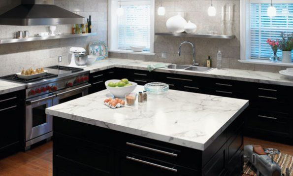 Marble Or Laminate Kitchen Design Countertops Kitchen Design