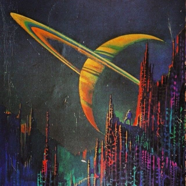 Sci fi art art pinterest sci fi art sci fi and retro for Retro outer space