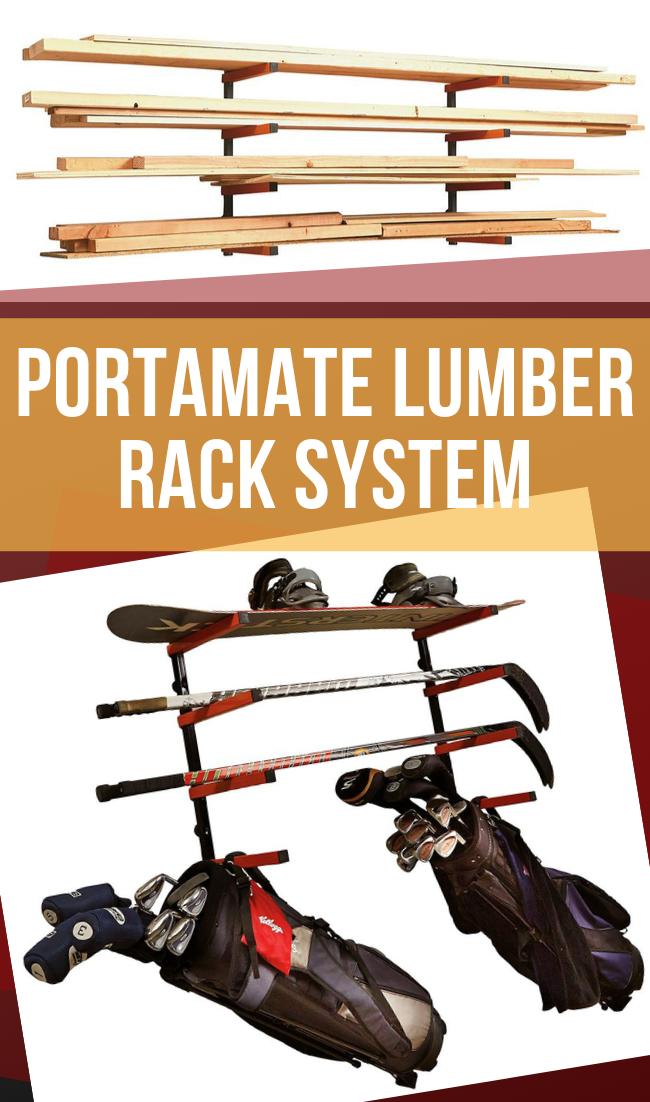 Bora Portamate Lumber Rack System 4 Tier Lumber Rack Racking