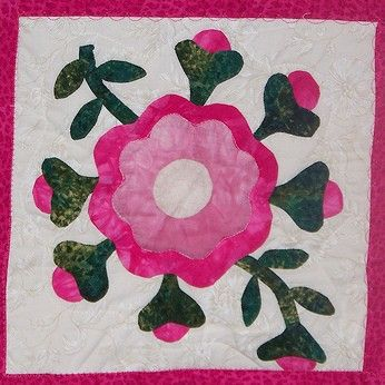 Applique Quilt Patterns | Applique patterns, Grandmothers and Patterns : rose of sharon quilt - Adamdwight.com
