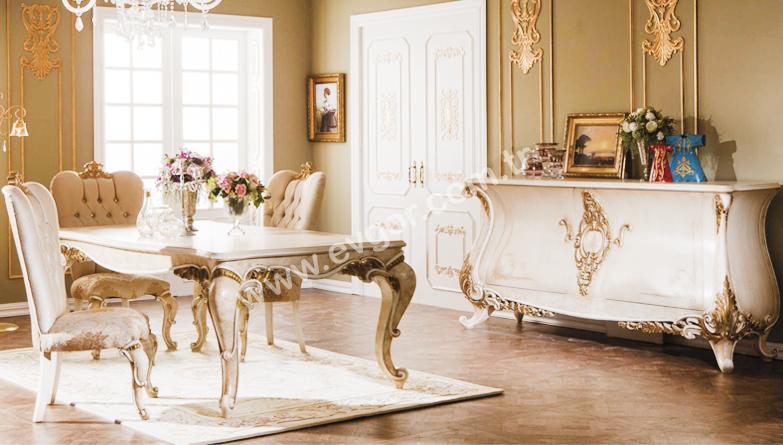 Evgortr Yemek Odalar Klasik Raan Odas