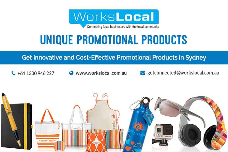 Get Unique Collection Of Promotional Products Sydney From Workslocal They Offer High Quality Gift