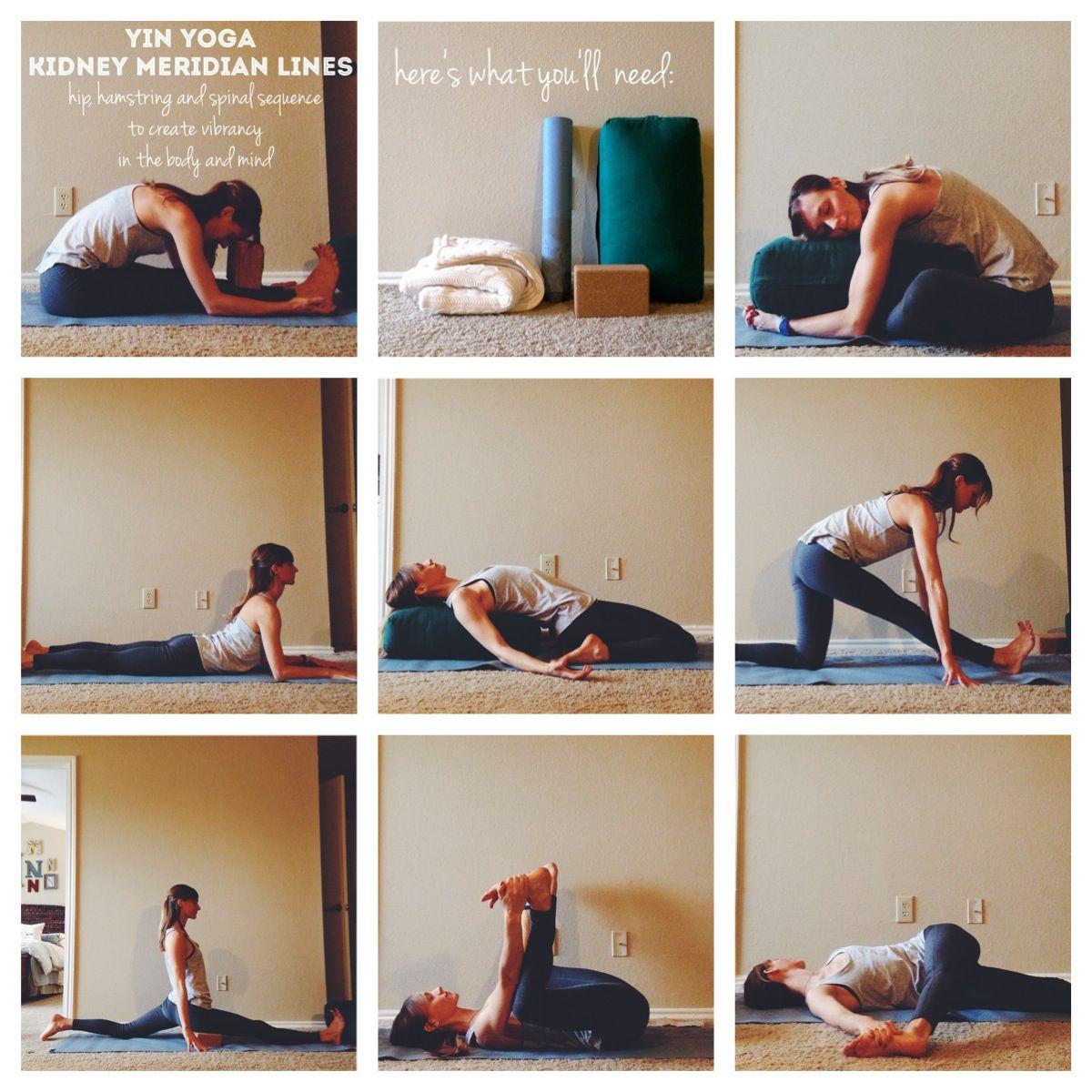 Yin Yoga Meridian Sequence
