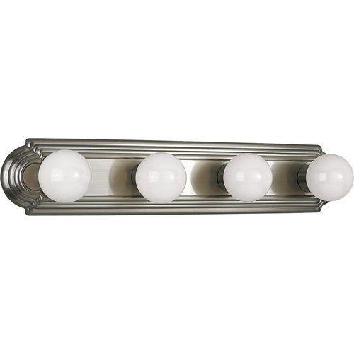 Photo of Progress Lighting Broadway 4 Light Bath Light – Brushed Nickel P3025-09